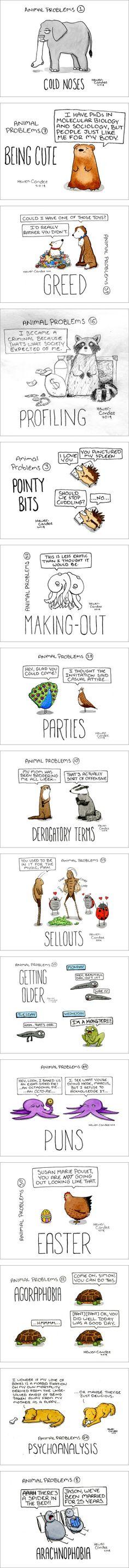 Animal Problems | love the psychoanalysis one