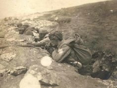 Türk askerleri İstiklal Savaşı'nda... #history