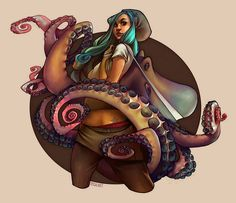 Octopus bag >