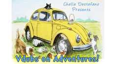 Taxi the Vdub Bug wants to be a star in his adventures! So he and his volkswagon friends the many Beetles & Kombies go on adventures