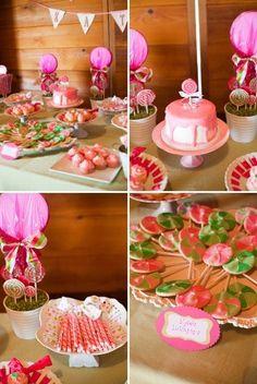 Adorable lollipop birthday..