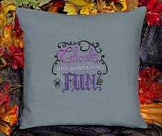 Ghouls Just Wanna Have Fun Customizable Pillow Cover by SheBellaBirk on Etsy