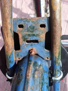 This bit of rusting metal has indeed been working out lately, and is glad you noticed.