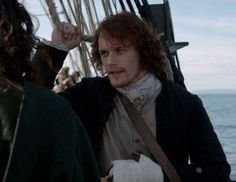 """Jamie Fraser (Sam Heughan)  in """"To Ransom A Man's Soul"""" Outlander Finale on Starz via http://kissthemgoodbye.net/PeriodDrama/thumbnails.php?album=318"""