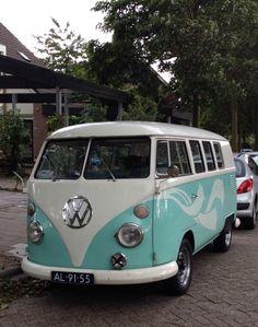 Volkswagen T1. Noord Holland.