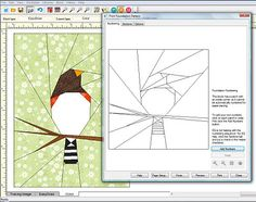Design your own paper piece quilt pattern