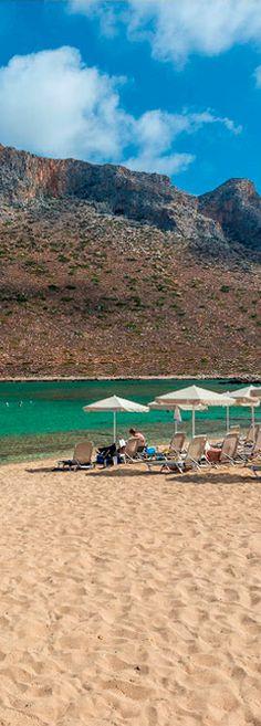 Stavros Beach in Chania, Crete, Greece
