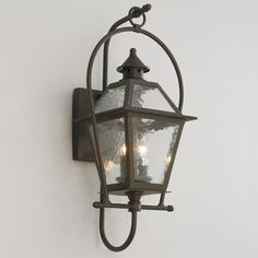 option IF we change out the original fixture   Charleston Outdoor Wall Lantern Large