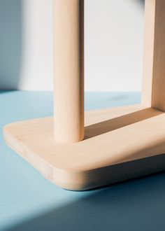 Detail of Simple stool - designed by Agata Nowak