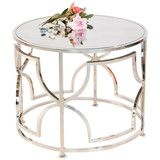 Tess Nickel Cocktail Table | Vielle and Frances