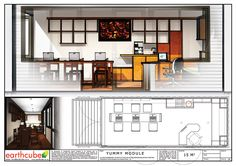Earthcube » Plan Gallery Building A Container Home, Container House Plans, Container House Design, Shipping Container Home Designs, Shipping Containers, Home Map Design, Container Office, Casas Containers, House Map