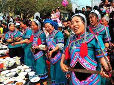 Small society of the Hani ethnic group - China culture