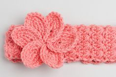 crochet hair bands baby - Google Search