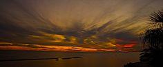 Sunset at Biloxi MS