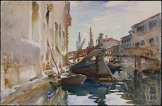 Giudecca - John Singer Sargent