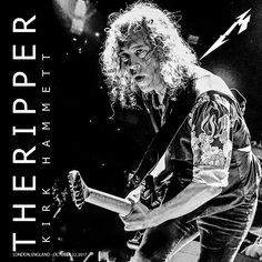 KIRK HAMMETT THE RIPPER #metallica #metontour #METONTOUR2017  #metinlondon