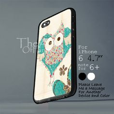 owl cute pattern Iphone 6 note for  6 Plus