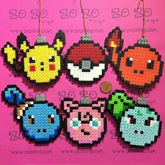 Pokemòn Hama beads