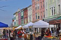 The Farmer's Market in the Kingston Uptown Stockade District New York Summer, High Falls, New Paltz, Upstate New York, Hudson Valley, Woodstock, Kingston, Cool Places To Visit, New York City