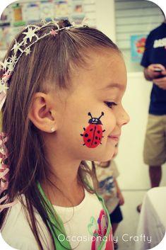 Face Painting - ladybug
