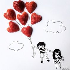 hello, Wonderful - ADORABLE FOOD ART FOR KIDS FROM CUTE CHICHAI