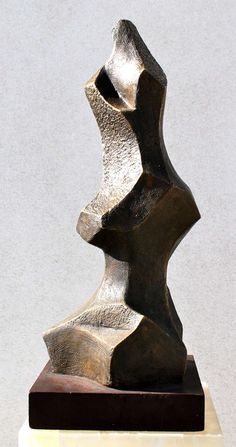 Stunning Abstract Bronze Sculpture | From a unique collection of antique and modern sculptures at https://www.1stdibs.com/furniture/more-furniture-collectibles/sculptures/