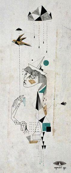 illustration - Expanded Eye