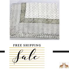 White Coverlet, Summer Quilts, Kantha Quilt, Cotton Quilts, How To Make Bed, Bed Covers, Hand Stitching, Printed Cotton, At Least