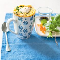 Thai Coconut Maker - Duck, Orange and Ginger Cake Mug, Bowl Cake, Mug Cakes, Thai Coconut, Sandwiches, Microwave Recipes, Morning Food, Tea Cups, Good Food