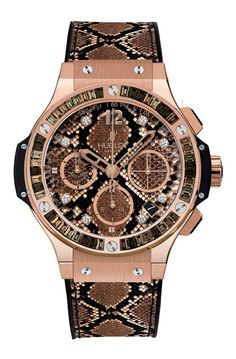 Passion For Luxury : The Glamorous Big Bang Boa Bang Watch from Hublot