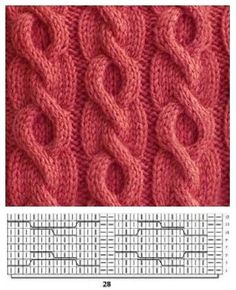 # Knitting - Lilly is Love Cable Knitting Patterns, Knitting Stiches, Knitting Charts, Lace Knitting, Knitting Designs, Knit Patterns, Stitch Patterns, Knit Crochet, Chunky Knits