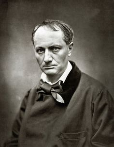 Charles Baudelaire photographed by Nadar (Gaspard-Félix Tournachon).