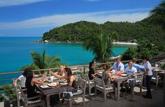 The Cliff Bar & Grill | Home. #samuimust  arrive 5ish for sunset. Between Lamai & Chaweng