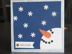 Kuvahaun tulos haulle joulukortti ideoita Christmas Cards To Make, Xmas Cards, Diy Cards, Punch Art Cards, Family Crafts, Craft Night, Homemade Cards, Craft Supplies, Birthday Cards