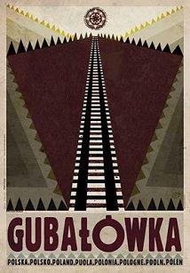 Gubałówka, plakat z serii Polska, Ryszard Kaja