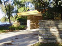 Alvin Miller House, aka Dietrich House / 1107 Court Street, Charles City, Iowa / 1946-50 / Usonian / Frank Lloyd Wright