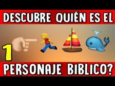 'DESCUBRE EL PERSONAJE BIBLICO CON EMOJIS'| CUANTO SABES DE LA BIBLIA? - YouTube Thing 1, Ibs, Faith, Youtube, Women's Bible Studies, Kids Bible Crafts, Toddler Sunday School, Bible Games, Emoji Games