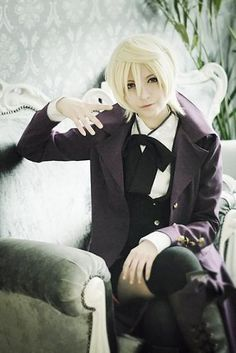 If I don't cosplay as Sebastian its going to be as Alois