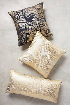 Gleaming Rings Pillow  DIY pillowcover