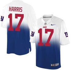 Nike #Giants #17 Dwayne Harris Royal Blue White Men's Stitched #NFL Elite #Fadeaway Fashion #Jersey