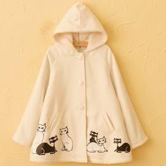 Harajuku jacket kitty party