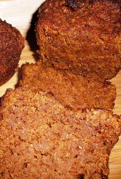 Low Carb Delish Pumpkin Bread - FAT TO SKINNY