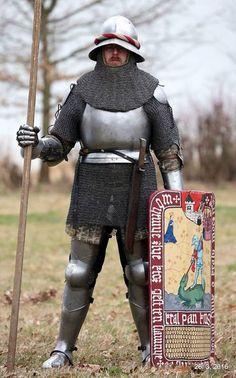 Доспех 1340-1440.