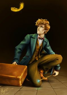 Newt Scamander - Fantastic Beasts and Where to Find Them Created: 2016 - Photoshop Harry Potter Film, Harry Potter Universal, Fantastic Beasts Movie, Fantastic Beasts And Where, Welcome To Hogwarts, Crimes Of Grindelwald, Actors, Marauder, Wattpad