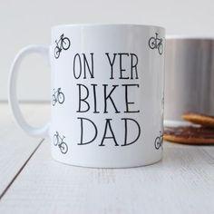 Personalised 'On Yer Bike' Mug