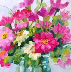 """Blue Jar Special"" original fine art by Libby Anderson"
