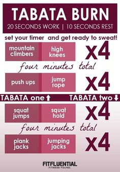 tabata burn workout
