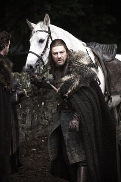 A favorite character, played superbly. Ned Stark King of the North. Lord of Winterfell.