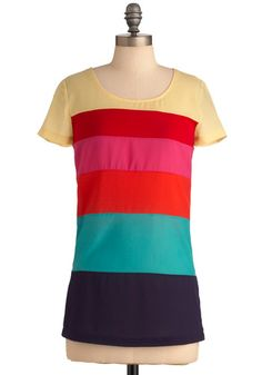 Make it Rainbow Top - Mod Cloth