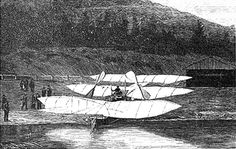 The Kress Drachenflieger. And attempt at building the first heavier than air flier. Austria-Hungary, 1901.